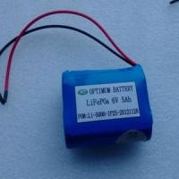 Wholesale Shenzhen Optimum 6V 5ah LiFePO4 Battery Pack for Lawn Light (OPT0605) from china suppliers