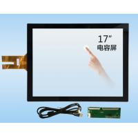Buy cheap 17 Inch 10 Point Projected Capacitive Touch Panel G + G With USB Interface from Wholesalers