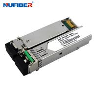 Wholesale 1.25Gb/s 40km CWDM SFP Transceiver Duplex LC 1270nm-1610nm SM DDM from china suppliers