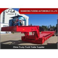 Wholesale 70T Detachable Gooseneck Trailer from china suppliers