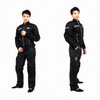China Sports Pants with Adjustable Belt, Available in Black on sale