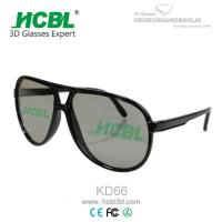 Professional Polarized Linear IMAX 3D Glasses For Man / 3D View Glass