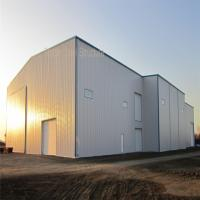 Wholesale Light Steel Structure Prefab Hangar with BV Certificate and nice apprance from china suppliers