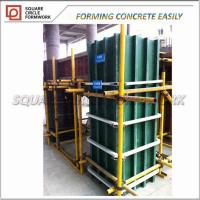 Wholesale Modular Concrete Formwork Round/ Modular Square Round plastic Concrete Pillar Formwork from china suppliers