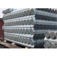 Wholesale galvanized steel pipe BS1387-1985 with thread from china suppliers