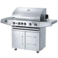 Wholesale stainless steel gas grill with five main burners from china suppliers