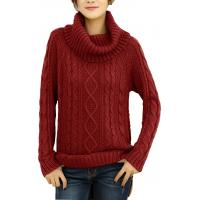 Wholesale Loose Fit Fashion Pullover Sweaters Grey Knitted Jumper Customized Size from china suppliers