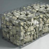 Wholesale Foldable Welded Mesh Gabions|Galvanized Wire 2''x2'' for Architectural Uses from china suppliers