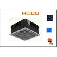 Quality CE Certificated Cassette Fan Coil Unit Two Tube System 500CFM Four Side Air Flowing for sale