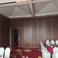 China Conference Room Sound Proof Partitions Movable Sliding Foldable Partitions in United States on sale