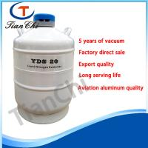 China Aluminum alloy cryogenic tank 20 L frozen semen liquid nitrogen dewar tank on sale