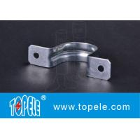 "Buy cheap Two Hole Strap EMT Conduit And Fittings Pre - Galvanized 1/2"" To 4"" Size from wholesalers"