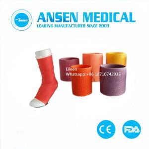 China Fixation Orthopedics Casting Tape Fiberglass Cast Bandage Medical Synthetic Casting Tape on sale
