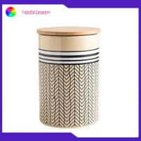 China Different Size Food Safe Stoneware Coffee Mug Sets Nordic Ceramic Storage Canister on sale