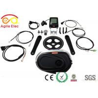 Mid Mounted Electric Bike Conversion Kit , E Bike Diy Kit Water Resistance