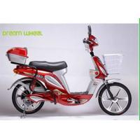 China 18 Aluminum Wheel Pedal Assist Electric Bike / Scooter 48V 350W Motor on sale