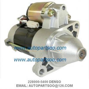 China Denso Starter Motor 228000-5400 WAI 18414N 12V 9Tooth 0.9kw Kubota Mower Front on sale