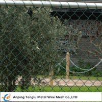 Wholesale Chain Wire Fencing|Chainlink or Chainmesh Made by Steel Wire 25mmx2.0mm Specification from china suppliers