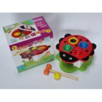 Wholesale Grasshopper kids wooden push toy from china suppliers