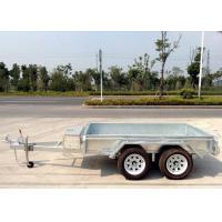 Wholesale 10x5 Hot Dip Galvanised Tandem Trailers 2000KG from china suppliers