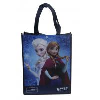 Wholesale Darkblue 100% enviromental non woven fabric reusable carrier bags water proof from china suppliers