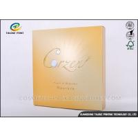 Wholesale Foil Logo Luxury Packaging Boxes , Collapsible Gift Boxes Non - Benzene Printing from china suppliers