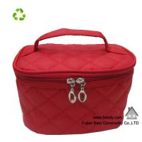 China 2014 promotional satin small cosmetic bags with compartments on sale