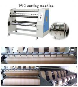 PVC slitting machine