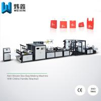 Wholesale 5 - in - 1 Automatic Non Woven Bag Making Machine / Auto Non Woven Fabric Machinery from china suppliers