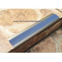 Buy cheap Economic Aluminum Step Edging / Nosing For Stair Tread Matt Champagne NLP8.0 from wholesalers