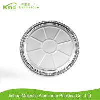 China Pizza pie pan Disposable Pollution-free Food Aluminum Foil Deep Pie cake Pan on sale