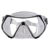 Buy cheap One Piece Lens Scuba Diving Mask For Adult With Silicone Strap , CE Passed from wholesalers