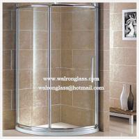 Wholesale Curved Tempered/Toughened Enclosure Door Shower Room Glass from china suppliers
