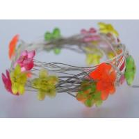 Wholesale Mini Flower USB LED Fairy Lights White / Pink 6 M 40LEDs Indoor Decoration from china suppliers