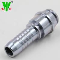 China Forged hydraulic joint rubber hose fitting Metric BSP JIC thread available barbed hose fittings on sale