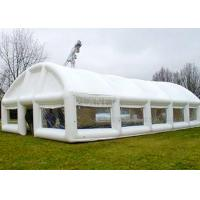China Giant White Airtight Advertising Inflatable Tent For Trade Show / Party on sale