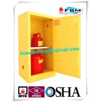 Wholesale Fireproof Steel Flammable Liquids Cabinet 15 Gallon For Hazmat Storage from china suppliers