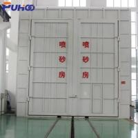 Quality Large Scale Industrial Sand Blasting Room Flexible Layout For Locomotive Industry for sale