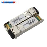 Wholesale 10gb Sfp+ Optical Transceiver , 2 Core LC Cisco Compatible Transceiver 10km 1310nm from china suppliers