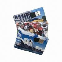 Wholesale Credit Card-shaped USB Flash Drives, Supports Data Encryption and Plug-and-Play Function  from china suppliers