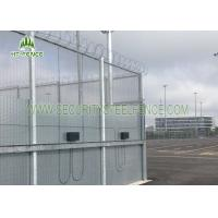 China 358 Clearvu Mesh Security Fencing3.0 M Height With 2 * 75mm Flanges Easy To Install on sale