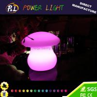 Wholesale Beautiful Color Flashing Decorative Mushroom led Desk Lamp from china suppliers