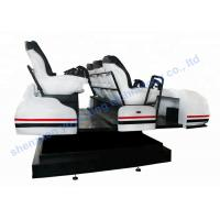 Wholesale 6 DOF 9D Vr Games Electric Motion Simulator 9D Vr Family With 6 Luxury Seats from china suppliers
