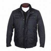 Wholesale Men's Winter Jacket, Made of 100% High Density Nylon Fabric, Excellent Workmanship from china suppliers