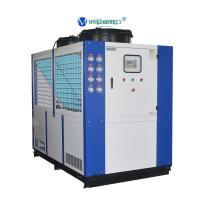 Buy cheap China Chiller Manufacturer 30RT 40hp Refrigeration Water Cooling System Chiller from wholesalers