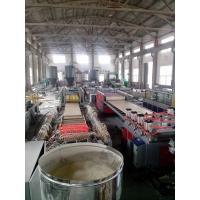 High Performance PVC Foam Plate Making Machine For Building Material