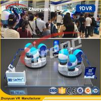 Wholesale Amusement Park 9d Motion Ride / 9d Cinema Simulator With Virtual Reality 80pc Movies from china suppliers
