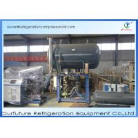 China Cold Storage Condensing Units Refrigeration Compressor Unit High Efficiency on sale