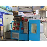 Buy cheap AC 15KW Wire Drawing Machine Ceramic Cone 1500mpm DC Three Section Annealing from wholesalers