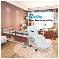 Wholesale Wooden Headboard Reclining Hospital Bed For Patient 2080*960*540mm from china suppliers